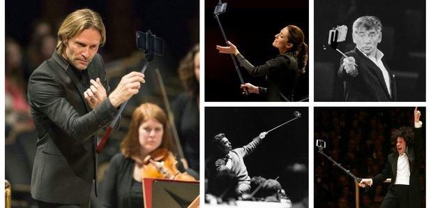 Conductor selfie sticks
