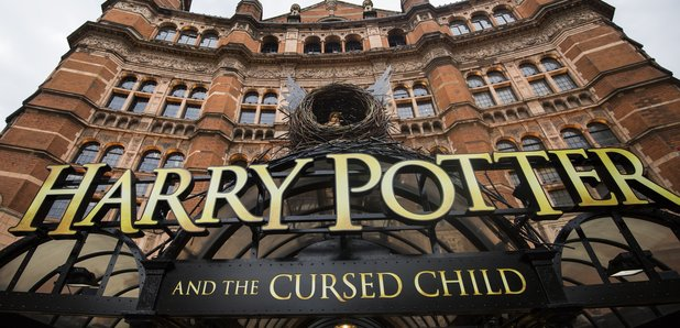 Harry Potter Cursed Child facade