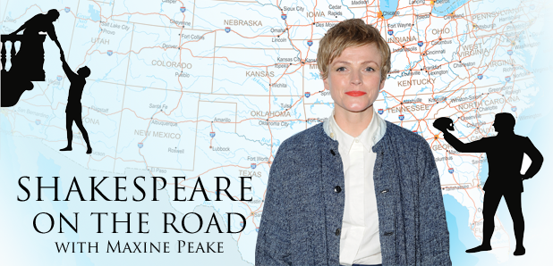 Maxine Peake Shakespeare on the Road