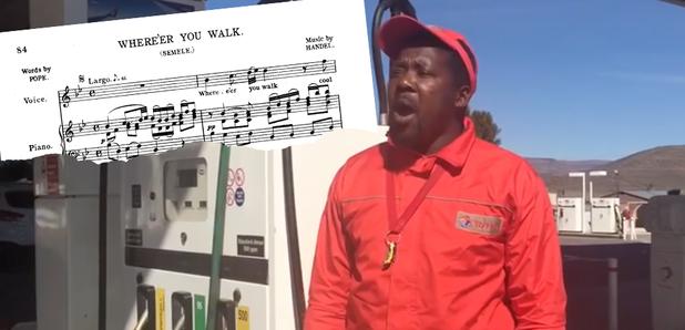Petrol pump attendant opera