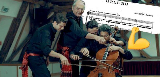 Bolero on a cello