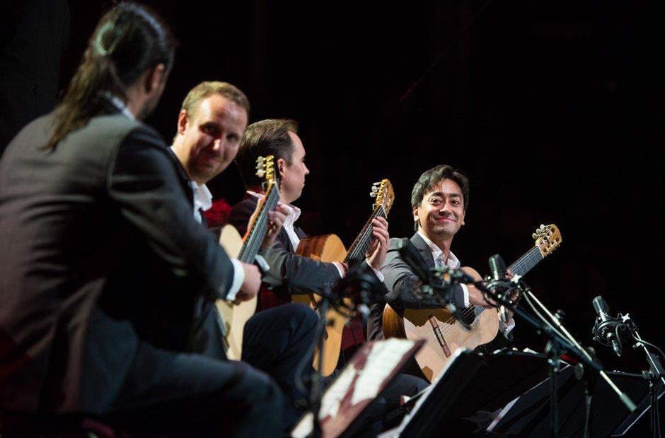 Classic FM Live Royal Albert Hall Aquarelle Guitar Quartet