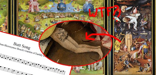 Hieronymus Bosch butt song