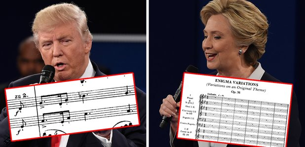 trump and clinton classical playlists