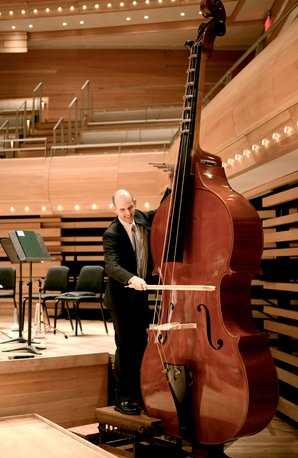 Octobass at Montreal Symphony Orchestra