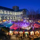 Winchester Cathedral ice rink
