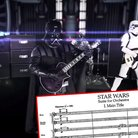 metal band plays star wars