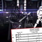 metal band plays star wars